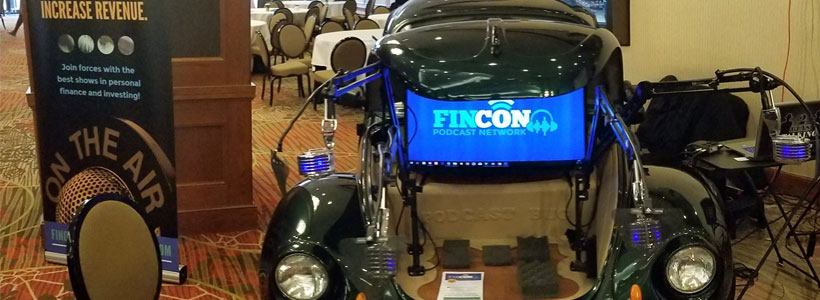 The Podcast Bug Does Dallas! Check out The Podcast Bug at The World's Largest Financial Bloggers and Podcaster Convention in Dallas! It's FINCon!